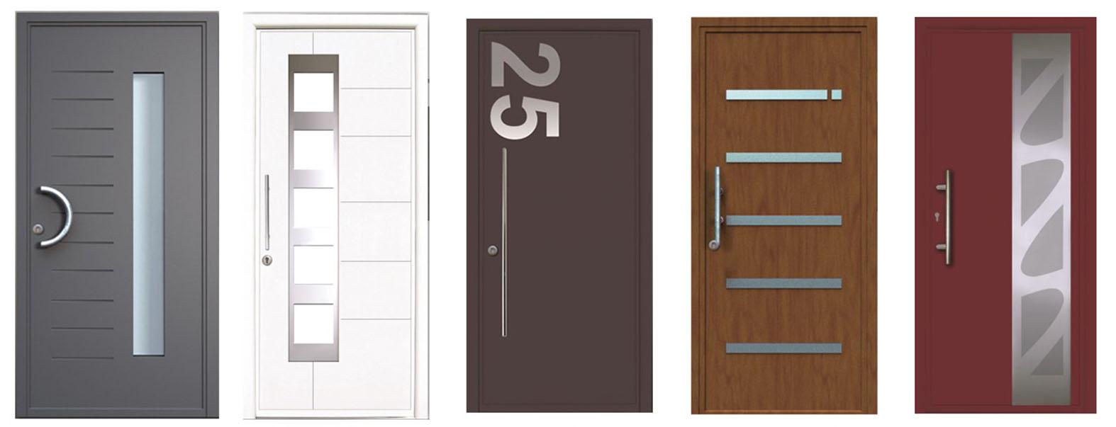 aluminium composite doors